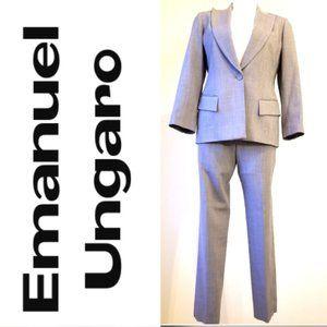 Emanuel Ungaro Suit  - Blazer / Pants USA Size 4